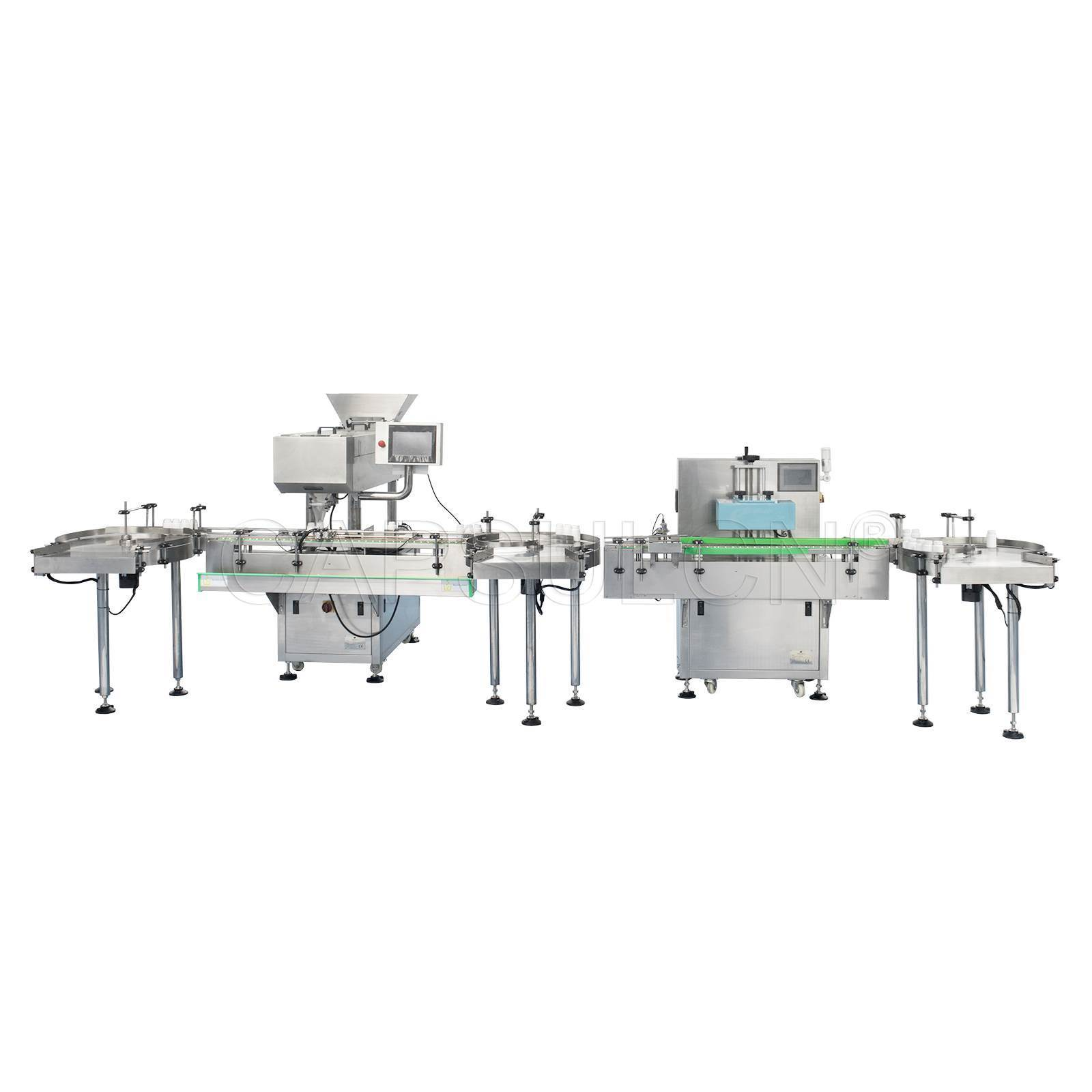 Tablet And Capsule Counting Sealing Labeling Line