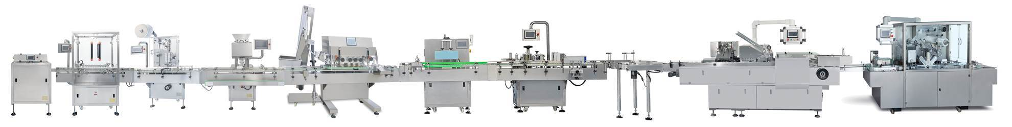 Integrated Tablets Capsules Pills Automatic Packing Line