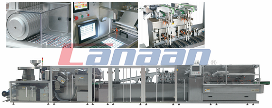 HIGH SPEED (AL-PLASTIC/AL-AL/AL-PLASTIC-AL/CARTON) INTEGRATED PRODUCTION LINE