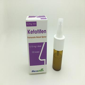 Ketotifen Fumarate Nasal Spray 16.7mg:15ml