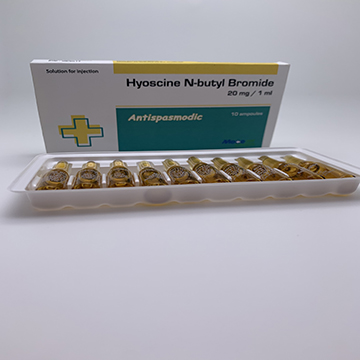 Hyoscine bromide Injection 20mg/1ml
