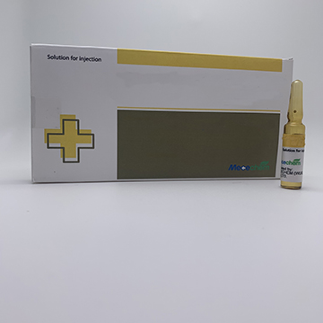 Heparin sodium 5000IU/mL. Solution for injection 5ml