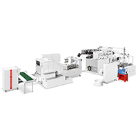 RZFD-330T Fully Automatic Square Bottom Paper Bag Machine with Handle inline