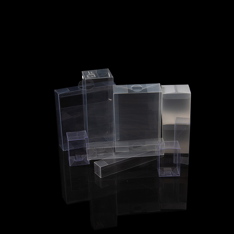 Custom size PET PVC PP box clear plastic pp box for food package
