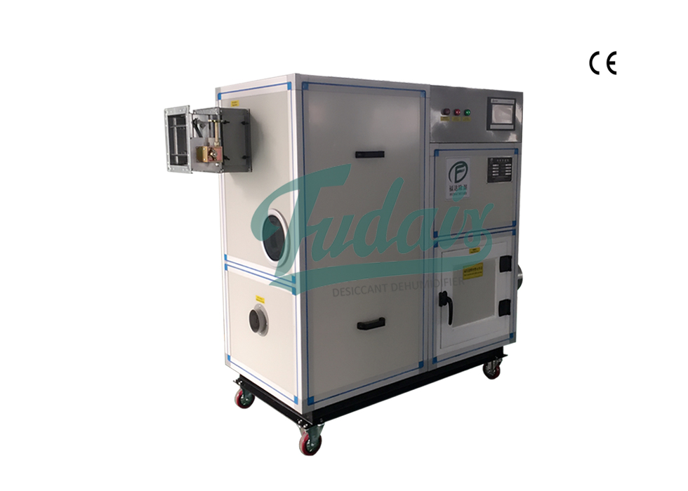 Desiccant Wheel Dehumidifier