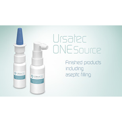 URSATEC preservative free spray pump systems for otological application