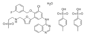 Lapatinib ditosylate monohydrate