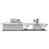 Infusion filling barging rolling machine production line