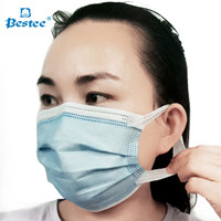 Disposable Medical Mask with Soft Earloop