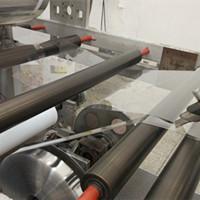 High Gloss transparent  rigid PET film in roll