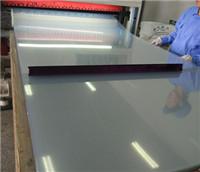 High transparent thick rigid PET sheet