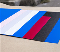 Colourful thick PVC sheet for advertising