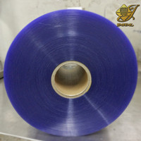 Transparent rigid PVC film for blister packing