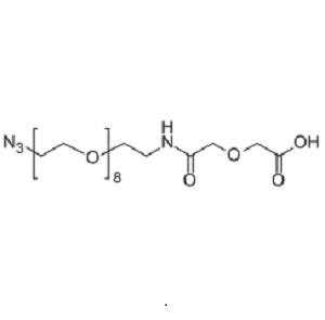 2-((Azido-PEG8-carbamoyl)methoxy)acetic acid