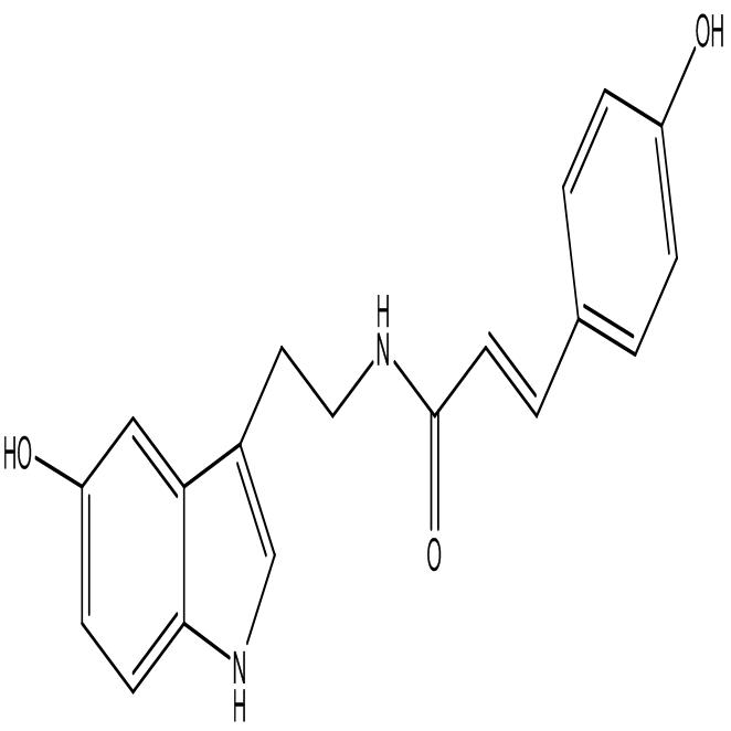 N-p-Coumaroyl serotonin,CAS:68573-24-0
