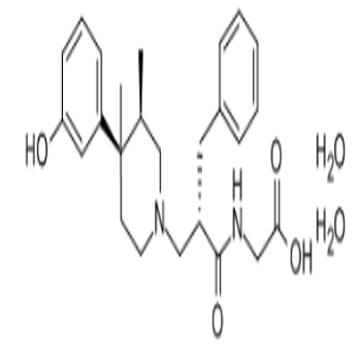 2-[[(2S)-2-benzyl-3-[(3R,4R)-4-(3-hydroxyphenyl)-3,4-dimethyl-1-piperi dyl]propanoyl]amino]acetic ac