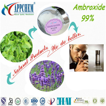 added in high grade perfumes- Ambroxide