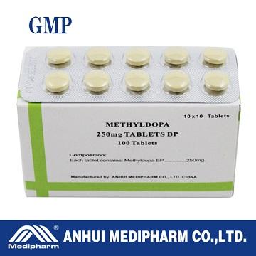 Methyldopa Tablet 250mg, Hypotensor