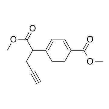 Benzeneacetic acid, 4-(methoxycarbonyl)-α-2-propyn-1-yl-, methyl ester