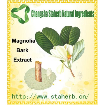 100% Nature Magnolia Extract Total Magnolol