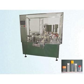 Automatic plastic vial powder quantitative filling machine