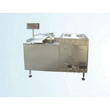 Automatic vertical ultrasonic bottle washing machine