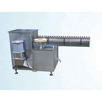 Automatic plastic bottle air washing machine