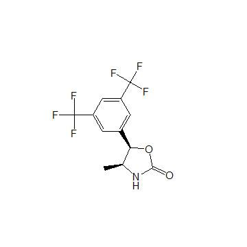 (4S,5R)-5-[3,5-bis(trifluoromethyl)phenyl]-4-methyl-1,3-oxazolidin-2-one