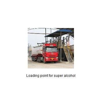 Loading point for super alcohol