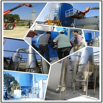 API Spray Dryer Machine