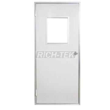 Enhanced purification door