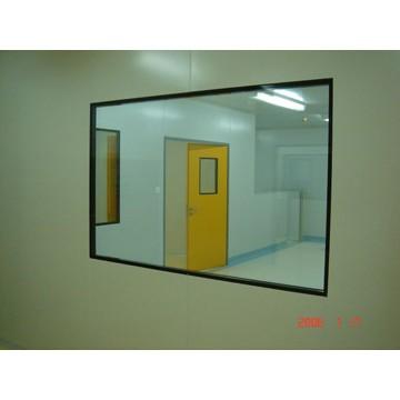 chemical room window