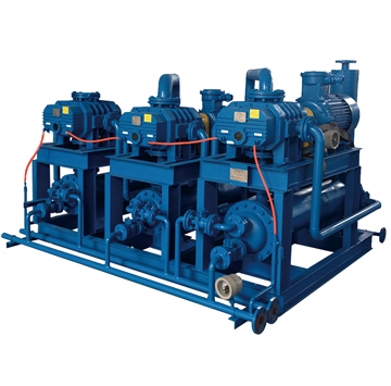 JZJQ All gas-cooled Roots vacuum pumping system