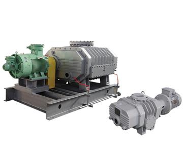 ZJ-type tri-lobe Roots vacuum pump
