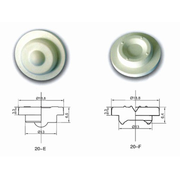 Sunshine Rubber Stoppers for Contact Lens