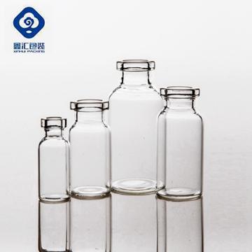 tubular glass vial