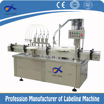 XT-618 Series of Liquid Plug-putting and Filling Machines