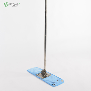 Microfiber 304 Stainless Steel Cleanroom Cleaning Mop