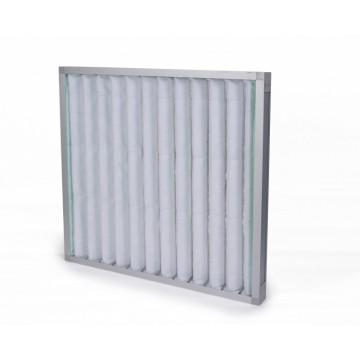 Coarse efficiency panel filter