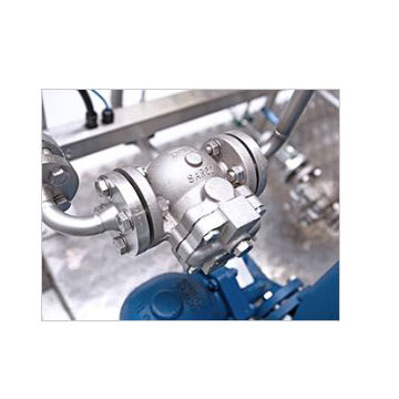 Floating ball steam trap