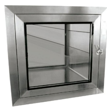 Stainless steel transfer box