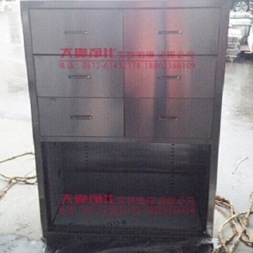 Stainless steel operating room equipment cabinet