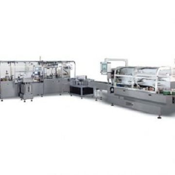 JDZ260LA Automatic high speed vial blister-cartoning production line