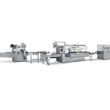 JDZ260 Automatic Pillow Packing/Cartoning/Overwrappign Production Line