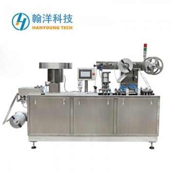DPP-150E Flat Type Alu Alu Blister Packing Machine