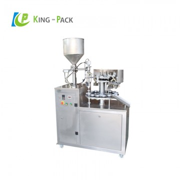 Unguent cream tube filling sealing machine
