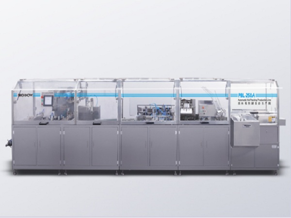 Pbl-250a cylinder vertical packaging automatic production line