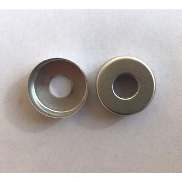 Aluminum Cap 13mm, 13mm middle hole aluminum cap