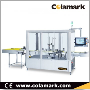 Colamark A104 High Speed Vertical Rotary Wrap-around Labeling Machine for Vials