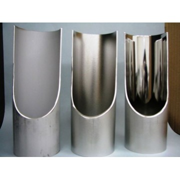 Electrolytically polished stainless steel tube